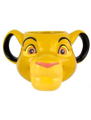 Taza 3D El Rey León Disney