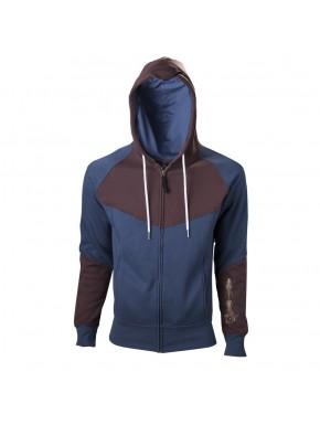 Assassin's Creed Unity sudadera azul y marrón