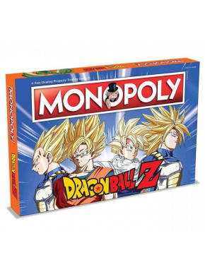 Monopoly Dragon Ball Z Castellano