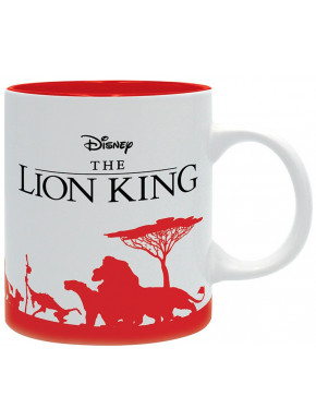 Taza El Rey León Disney Can't wait to be king