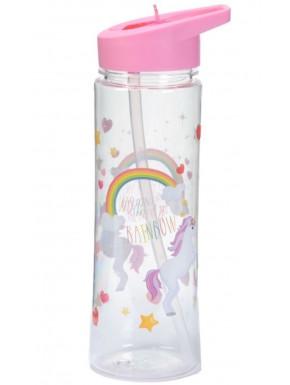 Botella Unicornio Arco Iris Encantados 350 ml