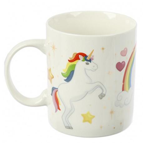 Taza con Unicornio Arcoiris Encantados