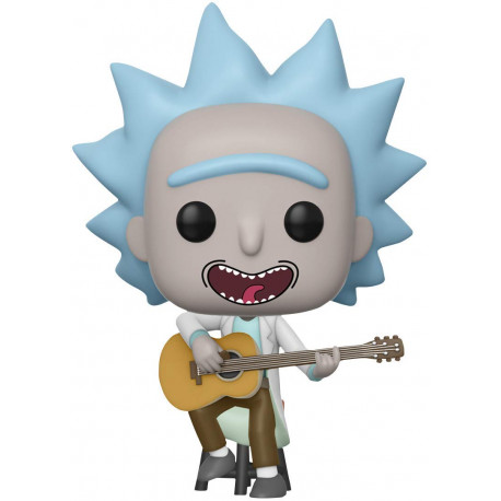 Funko Pop! Rick y Morty Rick con Guitarra