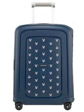Maleta cabina Mickey Azul 55 cm Samsonite 4 ruedas