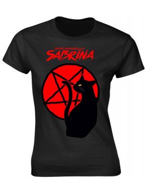 Camiseta Chica Las escalofriantes aventuras de Sabrina