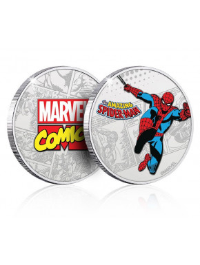 Moneda Spiderman Marvel