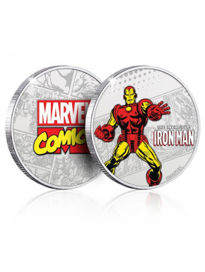 Moneda Iron Man Marvel