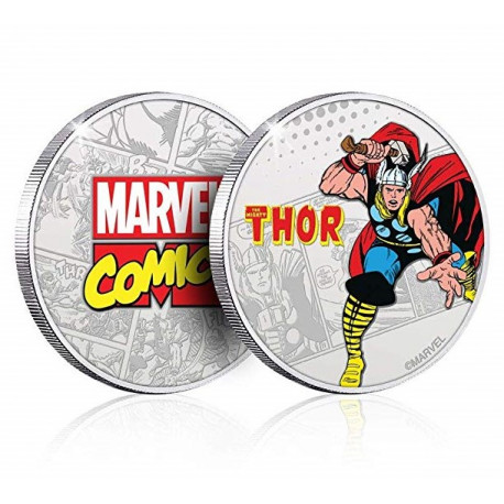Moneda Thor Marvel
