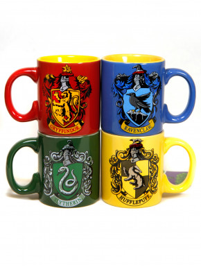 Pack de mini tazas Hogwarts Harry Potter