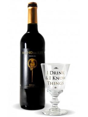 Pack vino de Rioja Tyrion sabe cosas
