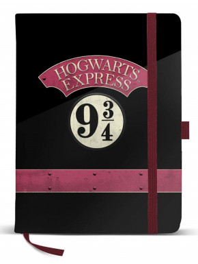 Libreta Andén 9 3/4 Harry Potter