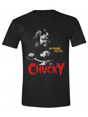 Camiseta Chucky My Friends Call me Chucky