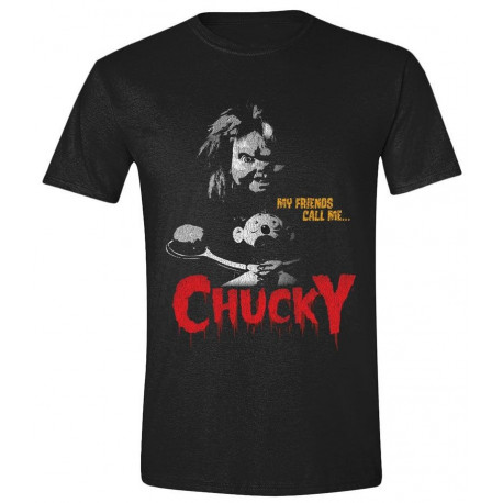 Camiseta My Friends Call me Chucky