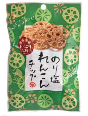 Nori Seaweeds and Salt Flavoured Lotus Root Crisps
