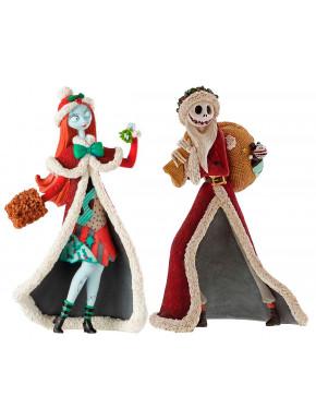 Pack Figuras Santa Jack y Sally Navidad