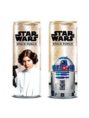 Pack Refrescos Space Punch Star Wars Leia y R2-D2