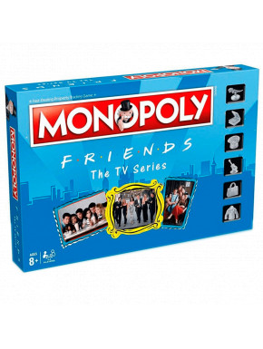 Monopoly Friends en Castellano