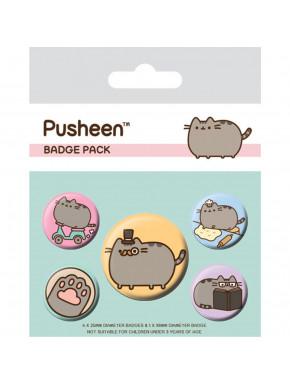 Pack Chapas Pusheen Fancy