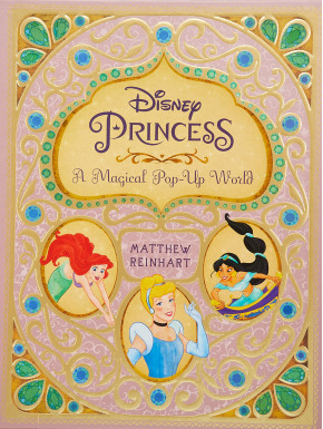 Libro guía Pop-up Princesas Disney en Inglés