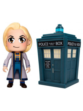 Set Figuras Doctor Kawaii & Tardis Doctor Who Vinyl