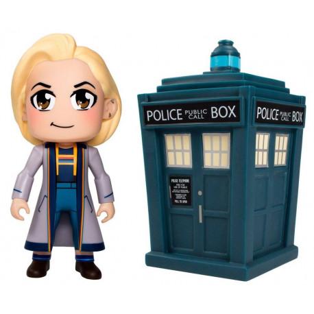 Set Figuras Doctor Kawaii & Tardis Doctor Who Vinyl