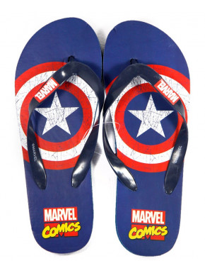 Chanclas Capitán América Marvel Adulto