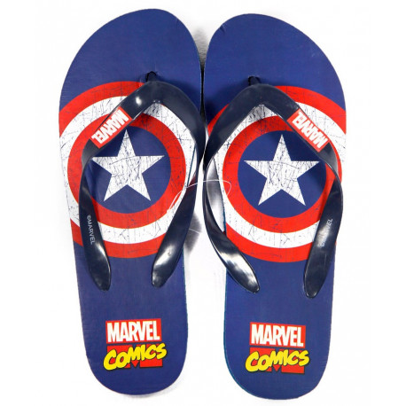 Chanclas Capitán América Marvel Adulto