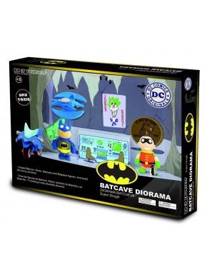 Plasticina Batcave Diorama