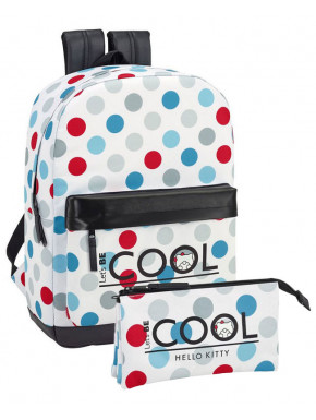 Pack Mochila y Estuche Hello Kitty Cool