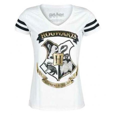 Camiseta Niña Harry Potter Howgarts