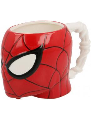 Taza 3D Spiderman Cabeza
