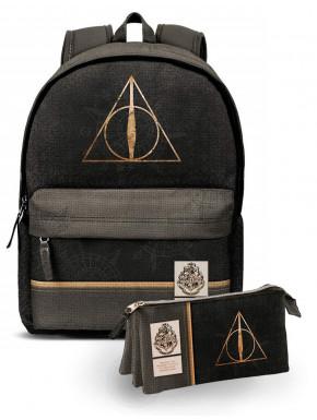 Pack Mochila y Estuche Harry Potter Reliquias de la Muerte