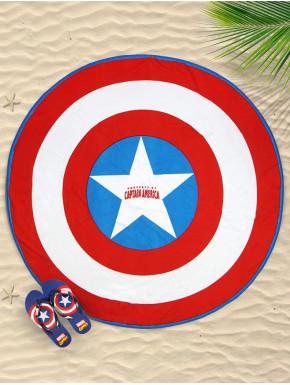 Pack Toalla y Chanclas Capitán América