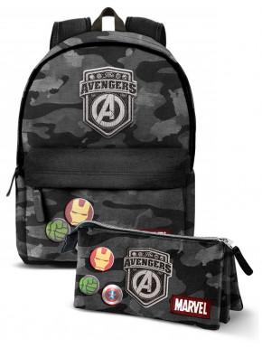 Pack Mochila y Estuche Avengers Marvel
