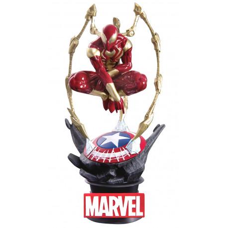 Figura Diorama Iron Spiderman Marvel 16 cm
