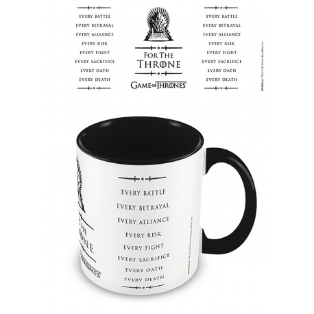 Taza For The Throne Juego de Tronos