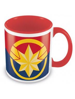 Taza Capitana Marvel Logo
