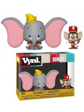 Set de 2 Figuras Dumbo & Timothy Funko VYNL