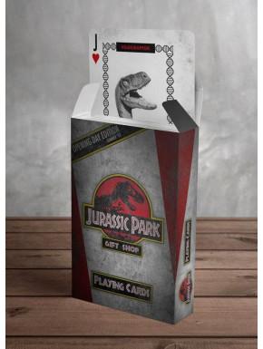 Baraja de Cartas Jurassic Park