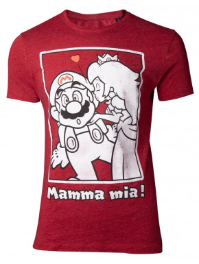 Camiseta Super Mario Kiss