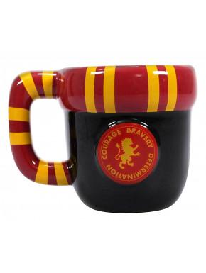 Taza Harry Potter Bufanda Gryffindor