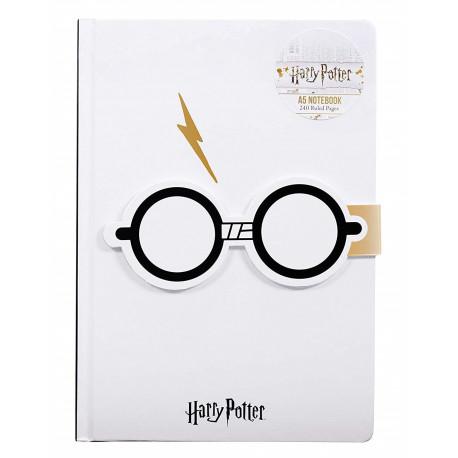 Libreta A5 Gafas Harry Potter