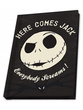 Libreta A5 Jack Pesadilla Antes de Navidad