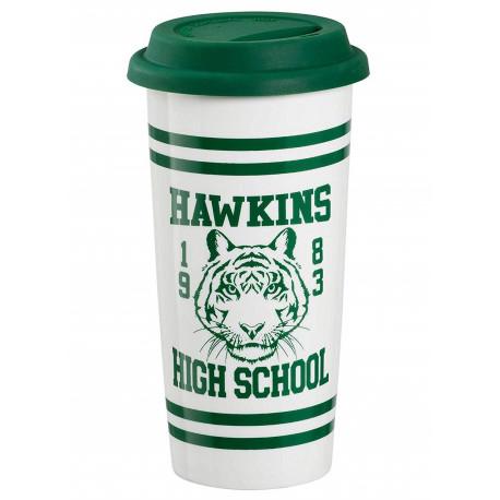 Taza de Viaje Stranger Things Hawkins High