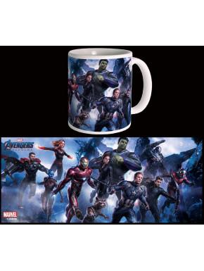 Taza Endgame Assemble Vengadores Marvel