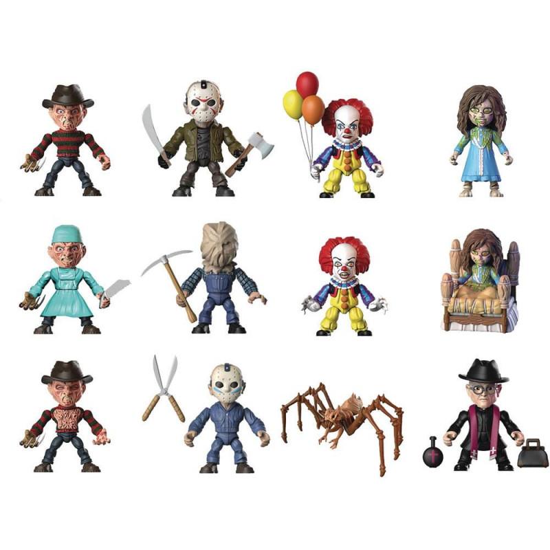 regalo parche The walking Dead y terror clasic set 7  minifiguras terror