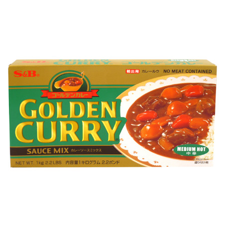 Curry Japonés Golden Curry medio 1 Kg