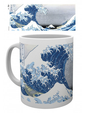 Taza Great Wave by Utagawa Hiroshige