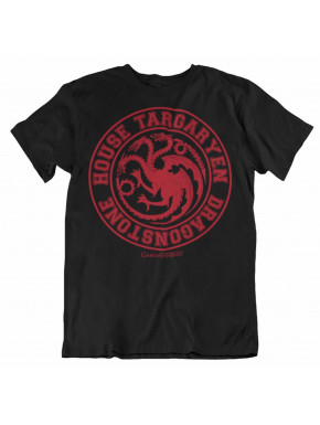 Camiseta Juego de Tronos Targaryen Dragonstone