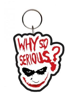 Llavero caucho Joker Why so Serious?